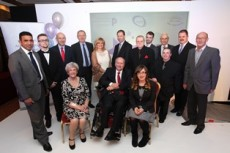 Community Achievement Awards Finalists with Judges, MPs and the Leader of the Council
