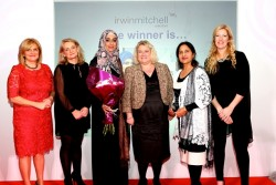 3 Carole Haywood, Alison Gregory, (Sameeia Luqman, Kathy Wilkinson, Sughra Begum - Tassibee) and Katy Bailey