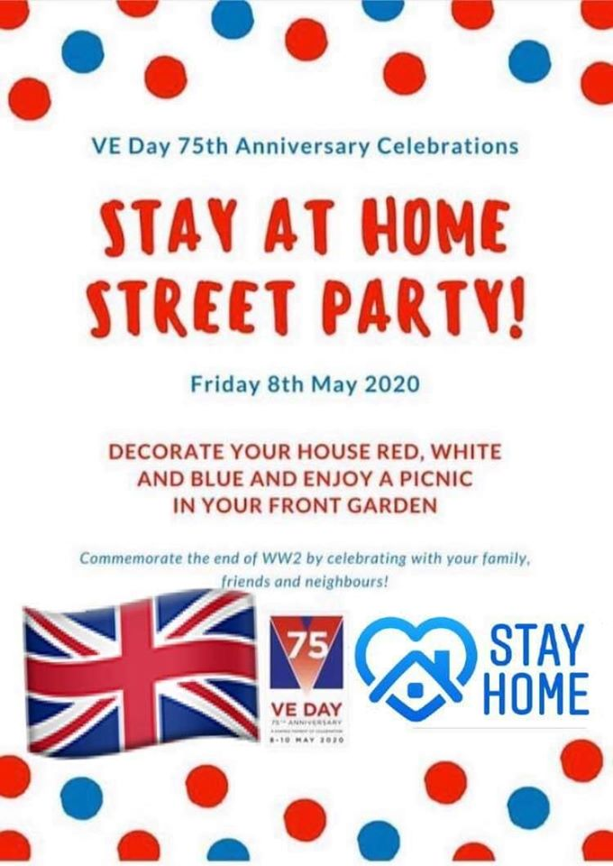 VE Day 75 Stay at Home Street Party - Voluntary Action Rotherham ...